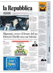 la Repubblica - 10 Novembre 2018