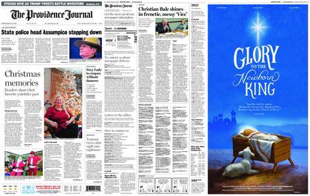 The Providence Journal – December 25, 2018