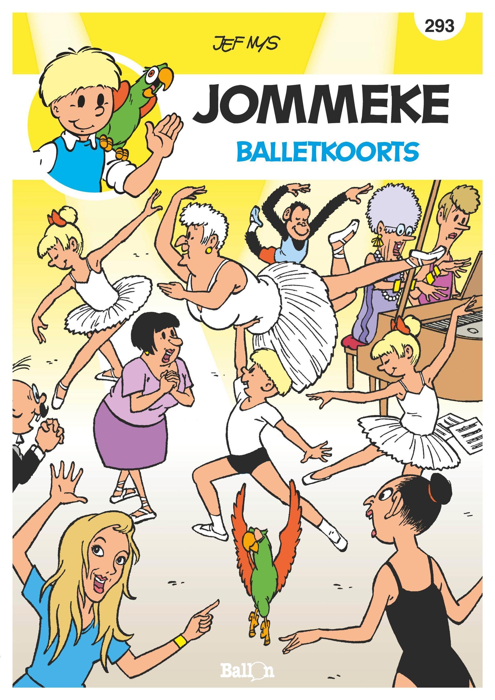 Jommeke - 293 - Balletkoorts