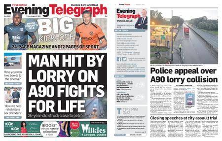 Evening Telegraph First Edition – August 03, 2018