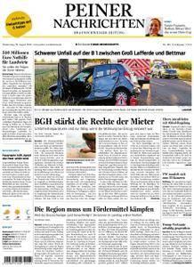 Peiner Nachrichten - 23. August 2018