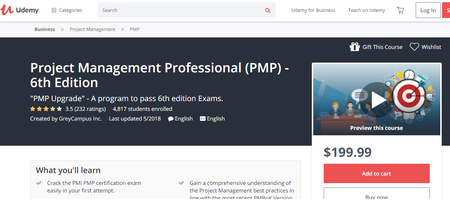 Project Management Professional (PMP) - 6th Edition