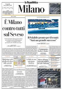 la Repubblica Milano - 1 Novembre 2019