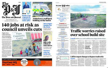 The Press and Journal Moray – September 28, 2018