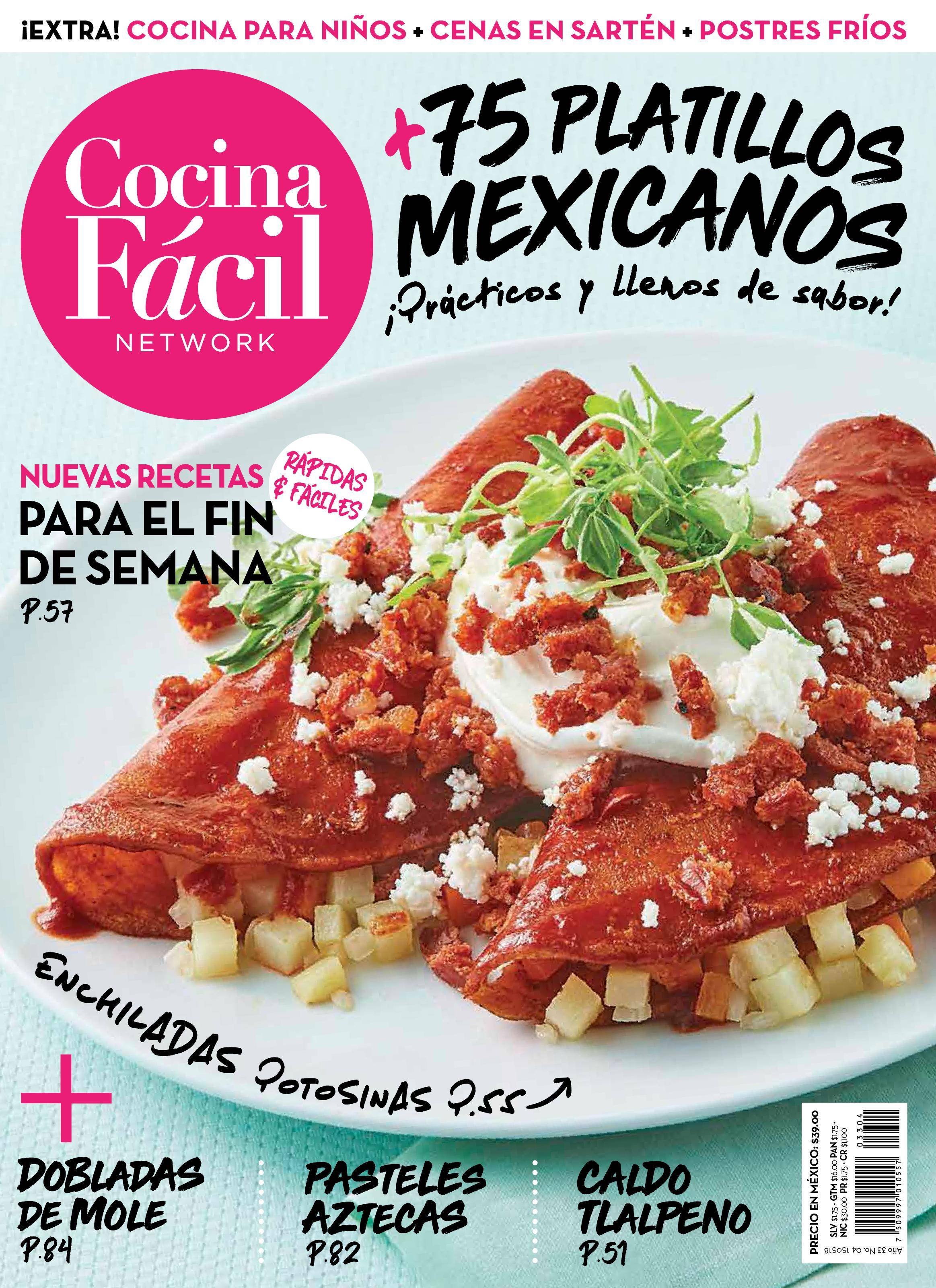 Cocina Facil México - mayo 2018