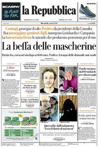 la Repubblica - 1 Aprile 2020