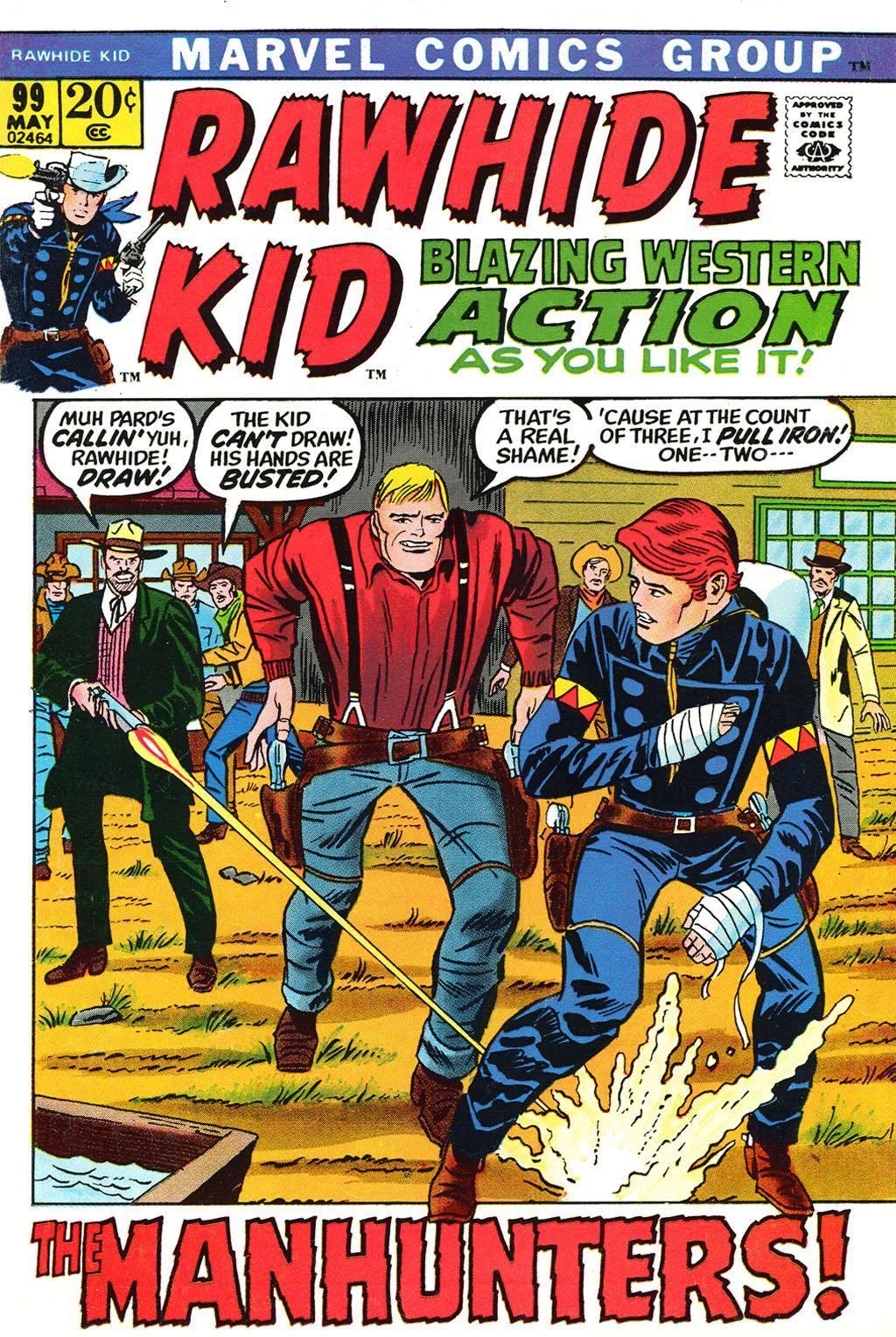 Rawhide Kid v1 099 1972 brigus