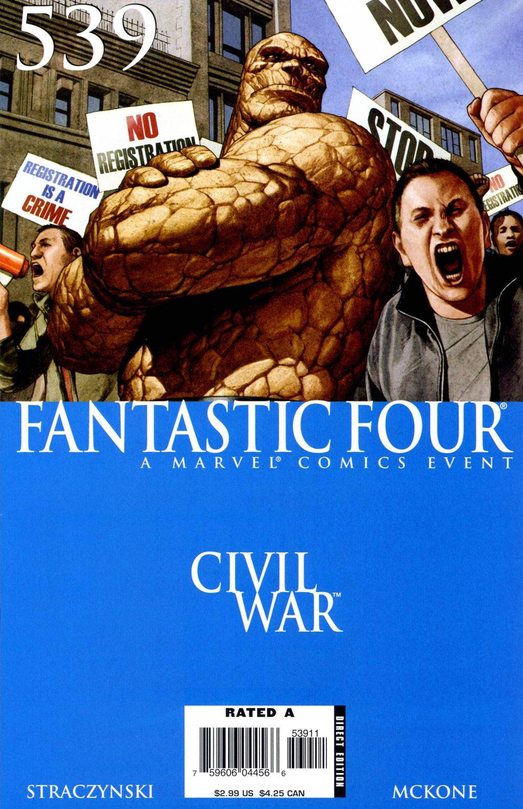 Fantastic Four 539