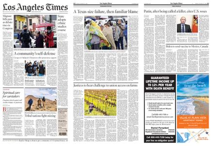 Los Angeles Times – March 19, 2021