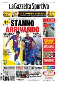 La Gazzetta dello Sport Roma – 06 settembre 2020