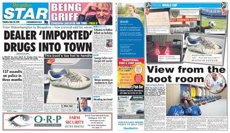 Shropshire Star Shrewsbury Edition – June 26, 2018
