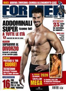 For Men Magazine N.201 - Novembre 2019