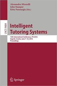 Intelligent Tutoring Systems: 13th International Conference