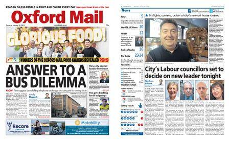 Oxford Mail – January 25, 2018