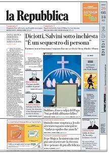 la Repubblica - 26 Agosto 2018