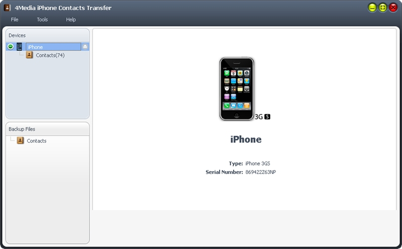 4Media iPhone Contacts Transfer 1.0.1.0803 Multilanguage