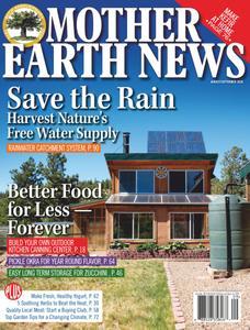 Mother Earth News - August/September 2020