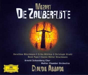 Mozart - Die Zauberflote (Roschmann, Miklosa, Strehl, Pape; Abbado) - 2006