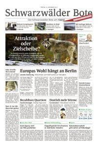 Schwarzwälder Bote Hechingen - 10. November 2017