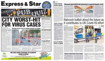 Express and Star City Edition – June 12, 2020