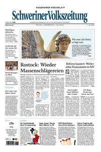 Schweriner Volkszeitung Hagenower Kreisblatt - 01. Dezember 2017