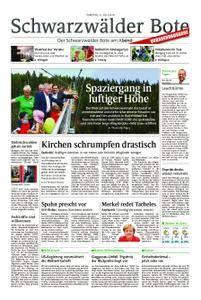 Schwarzwälder Bote St. Georgen, Triberg, Furtwangen - 21. Juli 2018