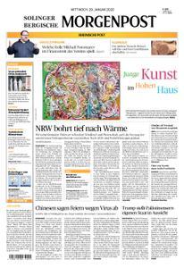 Solinger Morgenpost – 29. Januar 2020