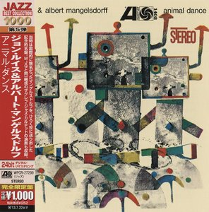 John Lewis & Albert Mangelsdorff / The Zagreb Jazz Quartet - Animal Dance (1962) {2013 Japan Jazz Best Collection 1000 Series}