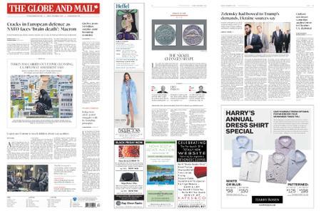 The Globe and Mail – November 08, 2019