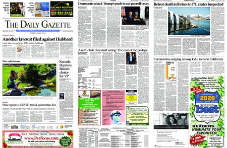 The Daily Gazette – August 12, 2020