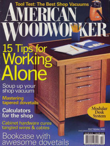 American Woodworker Magazine Issue 117 & 118