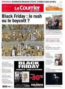 Le Courrier de l'Ouest Nord Anjou – 29 novembre 2019