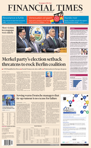 Financial Times Europe – 29 October 2018