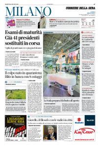 Corriere della Sera Milano – 16 giugno 2020