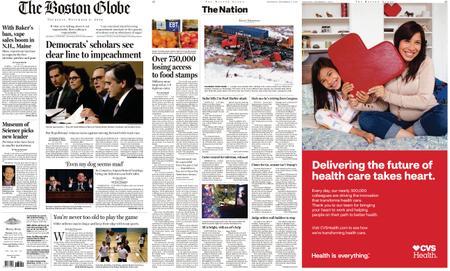The Boston Globe – December 05, 2019