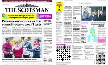 The Scotsman – December 14, 2018