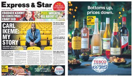 Express and Star City Edition – November 30, 2019