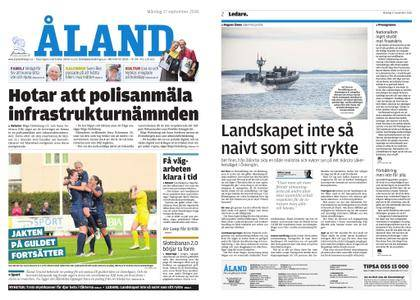 Ålandstidningen – 17 september 2018
