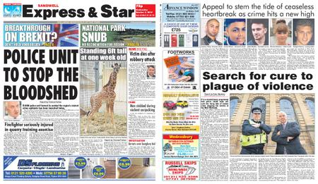 Express and Star Sandwell Edition – October 02, 2019