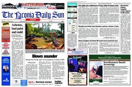 The Laconia Daily Sun – October 30, 2017