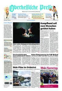 Oberhessische Presse Marburg/Ostkreis - 05. April 2018