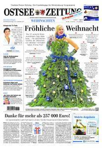 Ostsee Zeitung Wolgast - 23. Dezember 2017