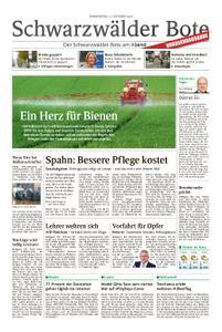 Schwarzwälder Bote Blumberg - 11. Oktober 2018