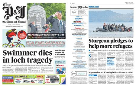 The Press and Journal Moray – August 17, 2020