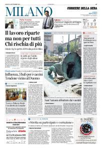 Corriere della Sera Milano – 19 settembre 2020