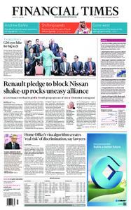 Financial Times UK – June 10, 2019