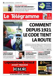 Le Télégramme Landerneau - Lesneven – 25 mai 2021