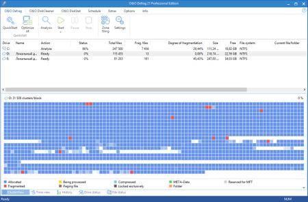 O&O Defrag Professional 21.2 Build 2011 Portable