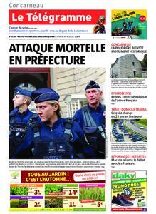 Le Télégramme Concarneau – 04 octobre 2019