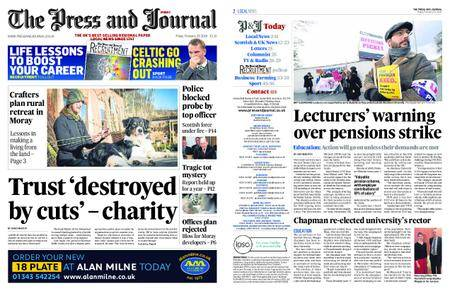 The Press and Journal Moray – February 23, 2018